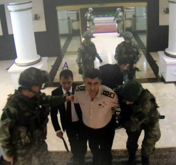 Shocking images show coup soldiers taking senior military ...