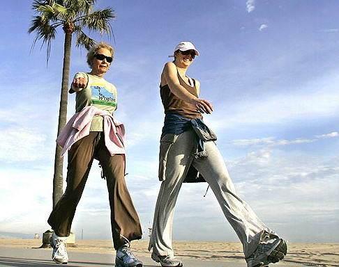 Хотьба: польза пеших прогулок