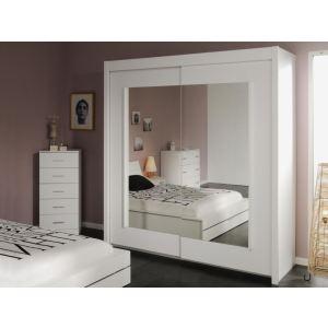 Armoire Dressing 3 Portes Coulissantes Miroir Comparer