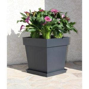 eda plastiques pot de fleurs toscane