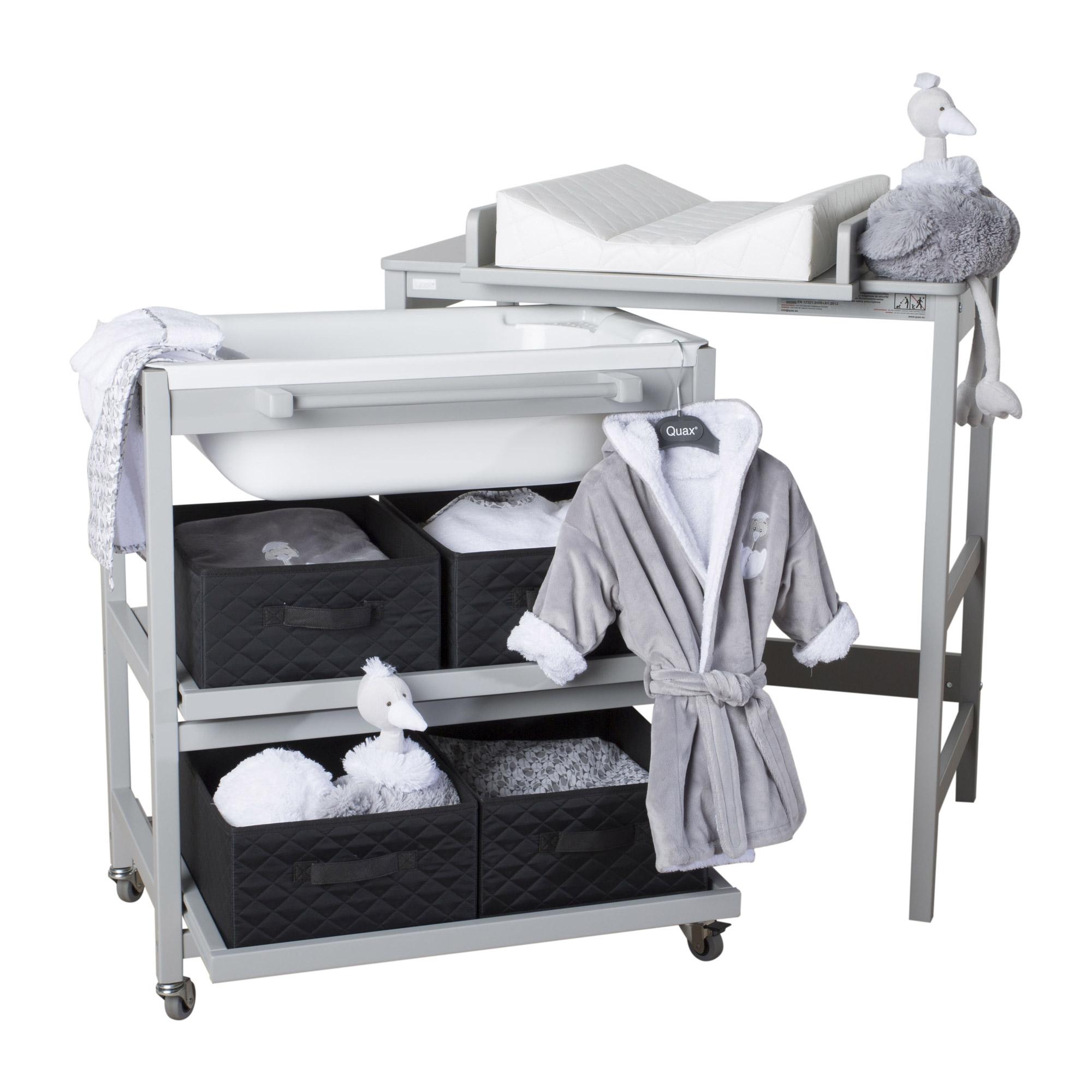Quax Comfort Smart Table Langer Avec Baignoire