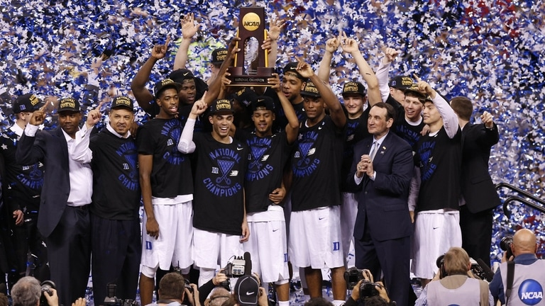 National Championship Duke Takes The Crown