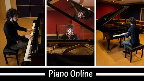 Curso de piano e teclado : academia da música online 2019