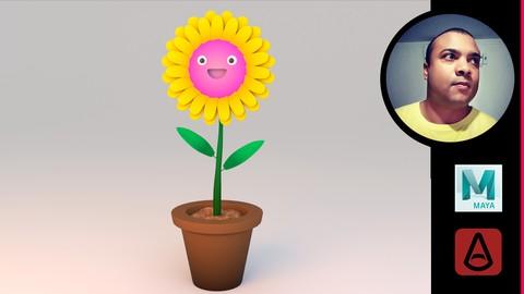 Curso Maya e Arnold: Modelando um personagem estilo cartoon.
