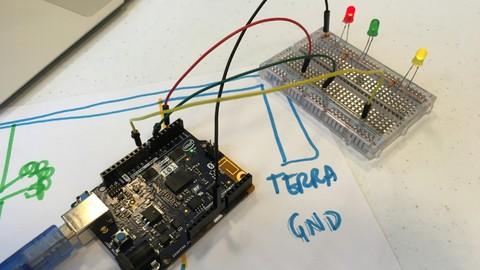 Arduino - First Steps: creating an interactive light fixture