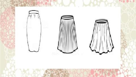 Sewing - Full Skirt Modeling
