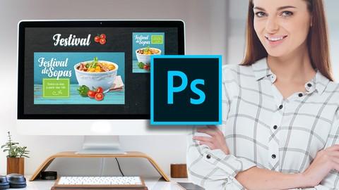 Photoshop para empreendedores, rápido e fácil.