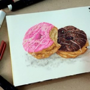Sale : Udemy: Ink Markers: Food Drawing and Illustration