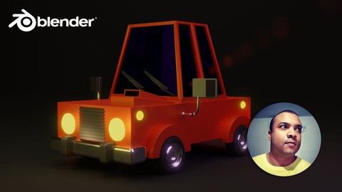 Modelando Carro Cartoon com Blender 2.8