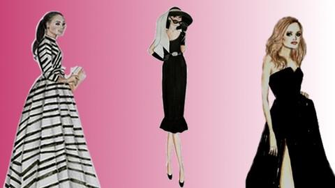Desenhe Moda Feminina