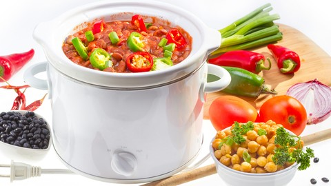 Easy, Healthy, Crockpot Cooking!  Cooking Lessons for Dad!