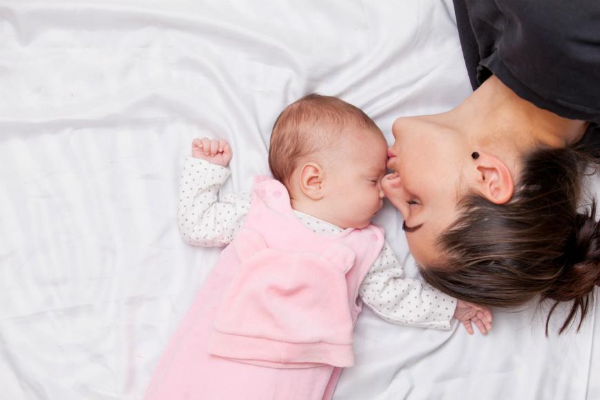 partager son lit avec son enfant une