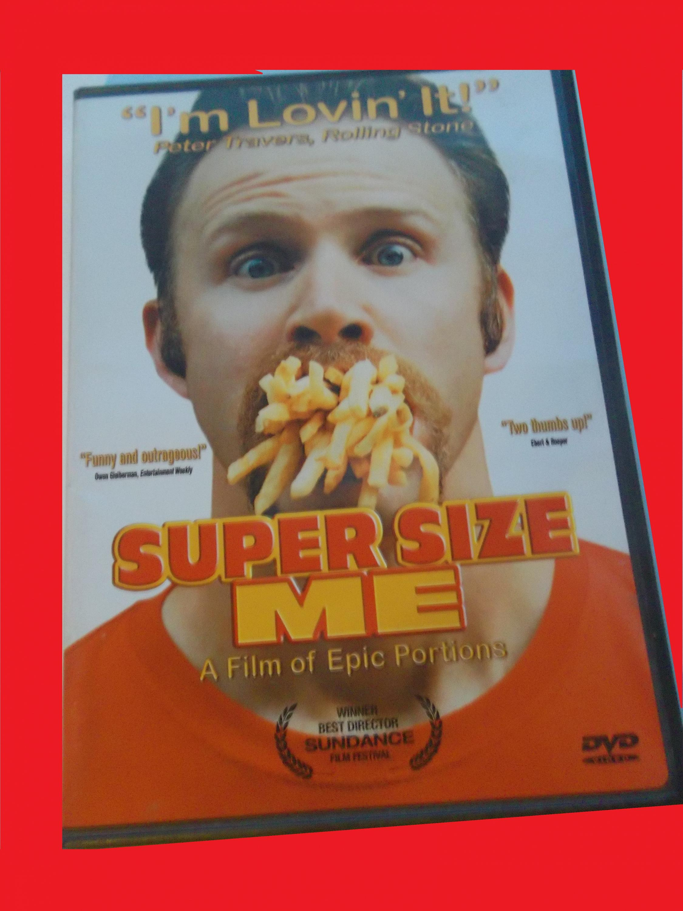 Super Size Me With Free Dvd Morgan Spurlock Documentary