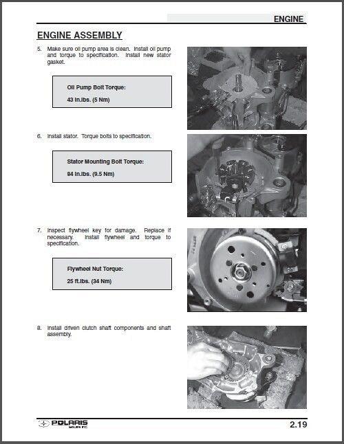 2001 polaris scrambler 90 service manual