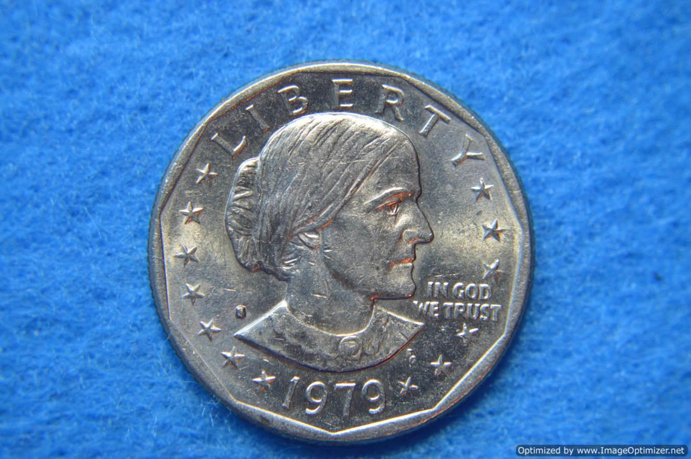 S Susan B Anthony Dollars Filled S