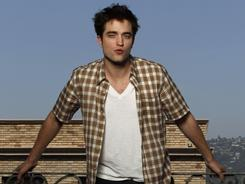 A good grip: Robert Pattinson stars opposite two Oscar winners in Water for Elephants.