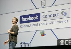 Facebook, founded by Mark Zuckerberg, above, has been used by cybercrooks to spread viruses