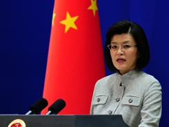 Foreign ministry spokeswoman Jiang Yu reiterates China's opposition to the use of force in Libya as the U.S. and allied air assault continues against Gadhafi's forces.