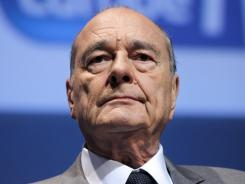 Former French president Jacques Chirac was convicted of corruption Thursday.