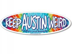 The slogan adopted by the Austin Independent Business Alliance.