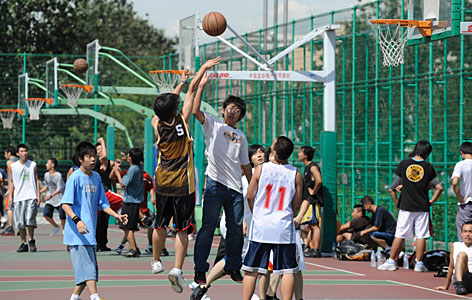 Image result for basketball in china