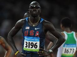 Lopez Lomong, who competed in the 2008 Beijing Games, will graduate from Northern Arizona on Friday and hopes to compete in London. His road from Sudan has been a long and winding one.