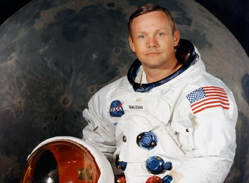 Neil Armstrong First Man on the Moon  Spacecom