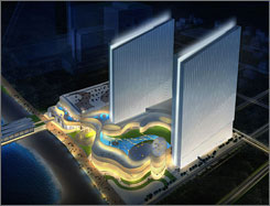 The Revel Entertainment recently unveiled designs for the $2 billion casino to be built on the Atlantic City Boardwalk next to the Showboat Hotel-Casino, and said the project will debut earlier than had been planned.