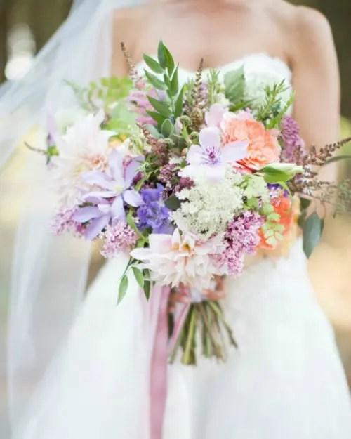 18 Tender Mixed Pastels Wedding Bouquets Weddingomania