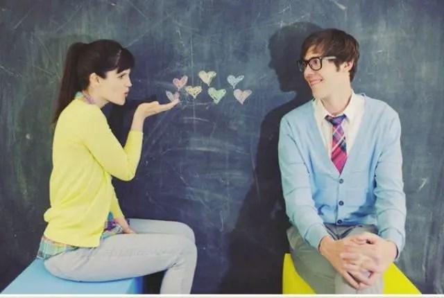 Romantic Valentine's Day Engagement Photo Idea