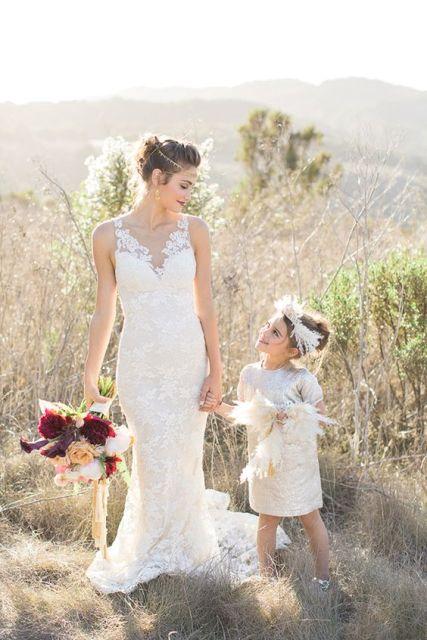 21 Airy And Beautiful Boho Flower Girl Dresses Weddingomania