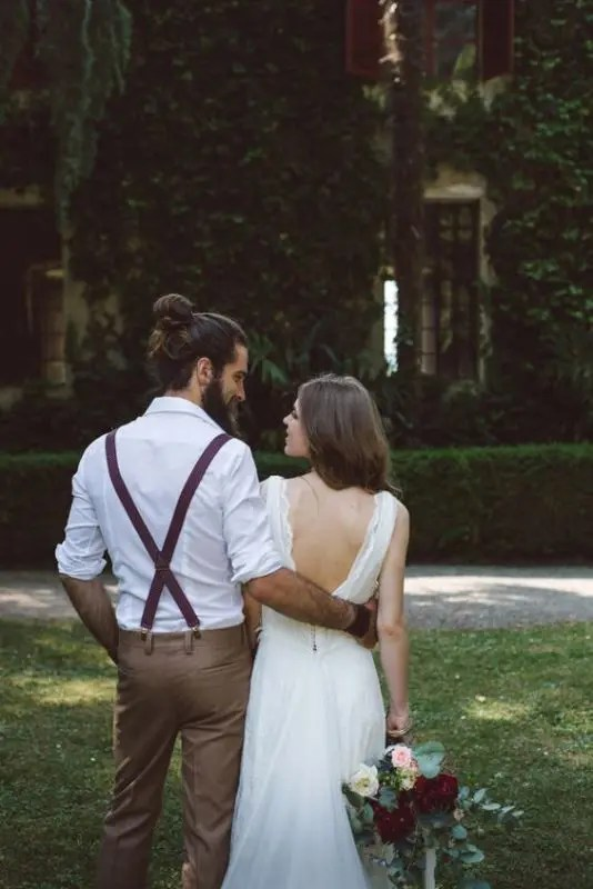 16 Stylish Grooms Who Know How To Rock A Man Bun