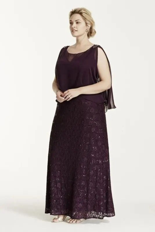 08bb9e2208d 43 Stunning Plus Size Mother Of The Bride Dresses - crazyforus
