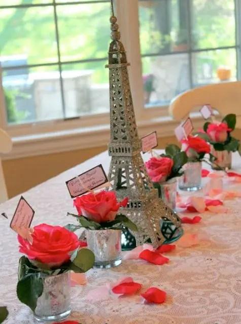 Parisian Themed Bridal Shower Idea