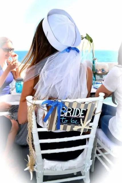 Bridal Shower Invitations Nautical