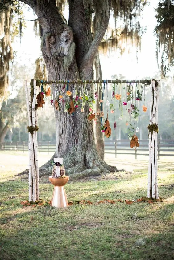27 Fall Wedding Arches That Will Make You Say I Do Crazyforus