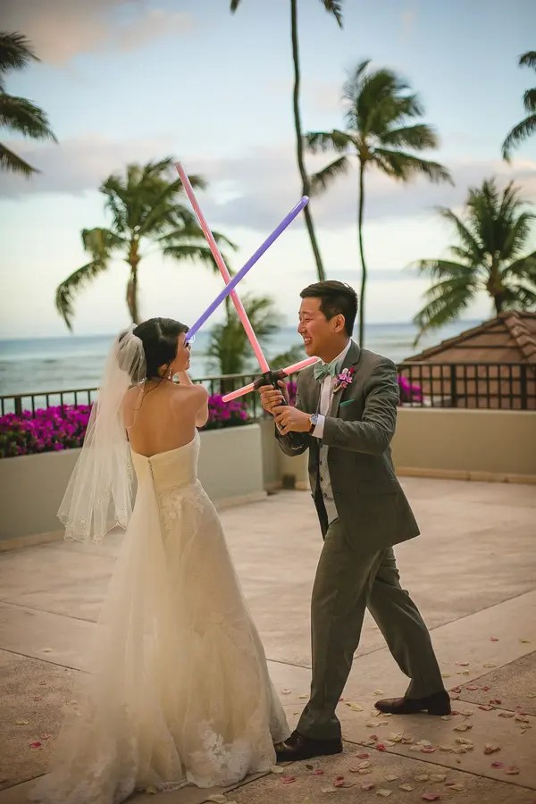 Star Wars Themed Hawaiian Destination Wedding Weddingomania