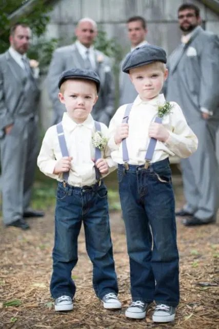 Picture Of Ring Bearer Outfit For Rustic Weddings