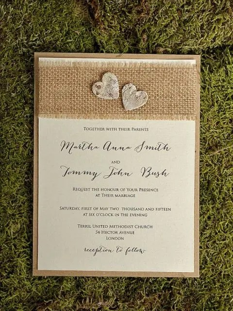 Cheap Wedding Invitations Beach Wedding