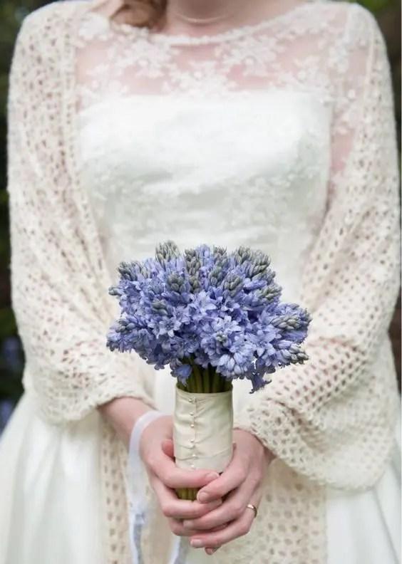 large ivory crochet shawl