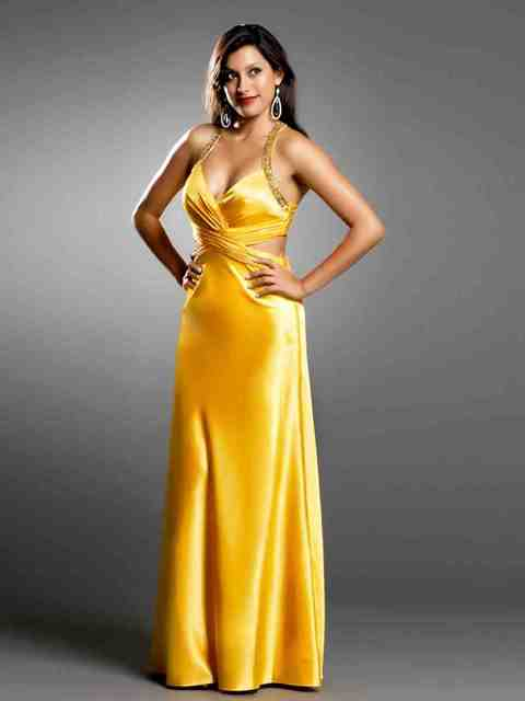 Yellow Dresses Weddings