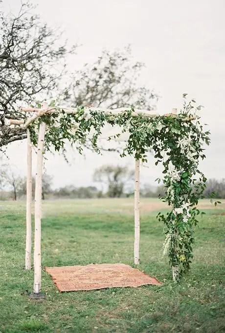 36 Wood Wedding Arches Arbors And Altars Weddingomania