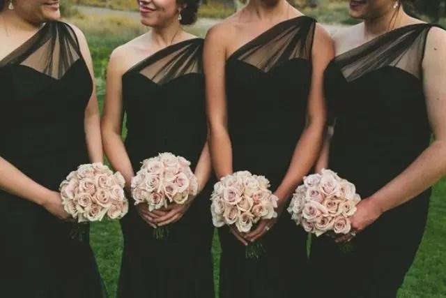 30 Chic Blush And Black Wedding Ideas