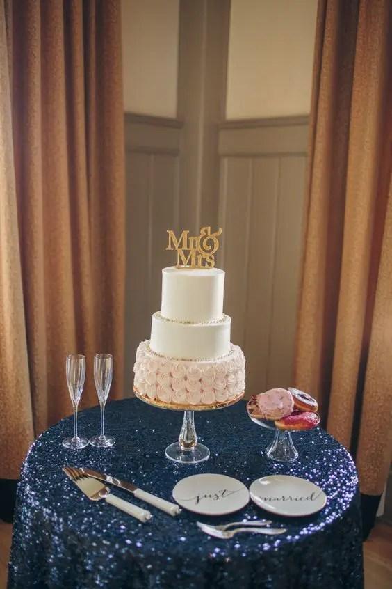 32 Elegant Blush And Navy Wedding Ideas Weddingomania