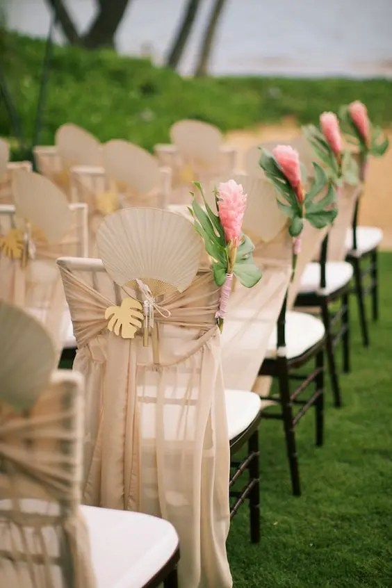 29 Tropical Wedding Aisle D 233 Cor Ideas To Try Weddingomania