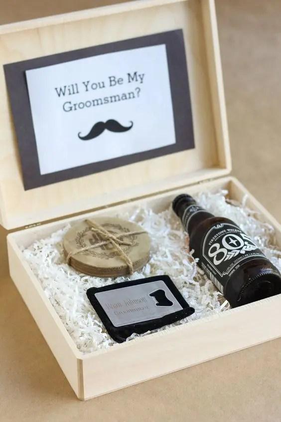 27 Awesome Will You Be My Groomsman Gifts Weddingomania