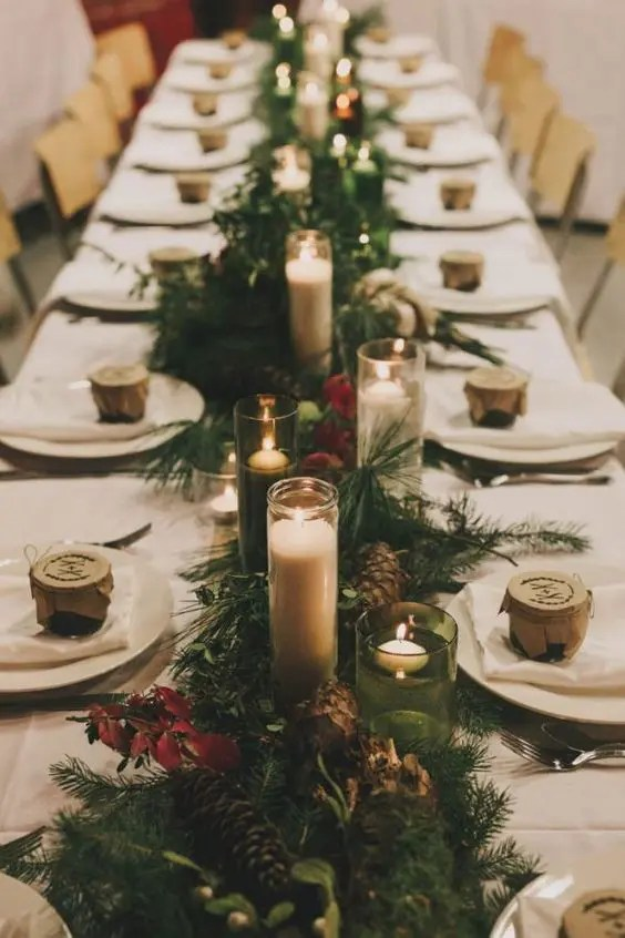 32 Winter Wedding Table Runners In Different Styles Weddingomania
