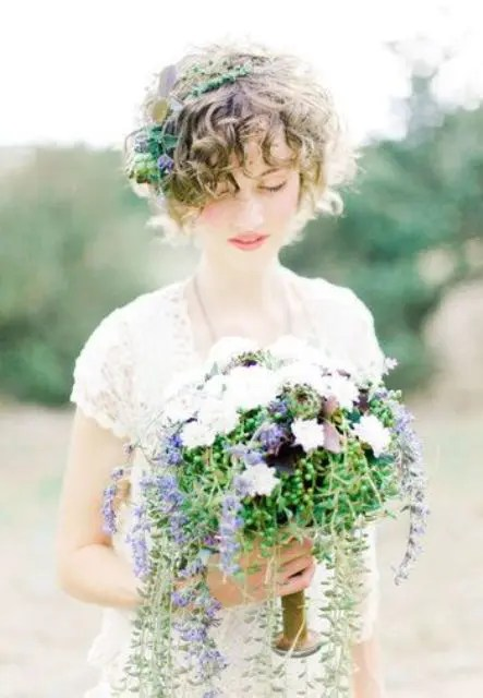 26 Short Wedding Hairstyles And Ways To Accessorize Them Crazyforus