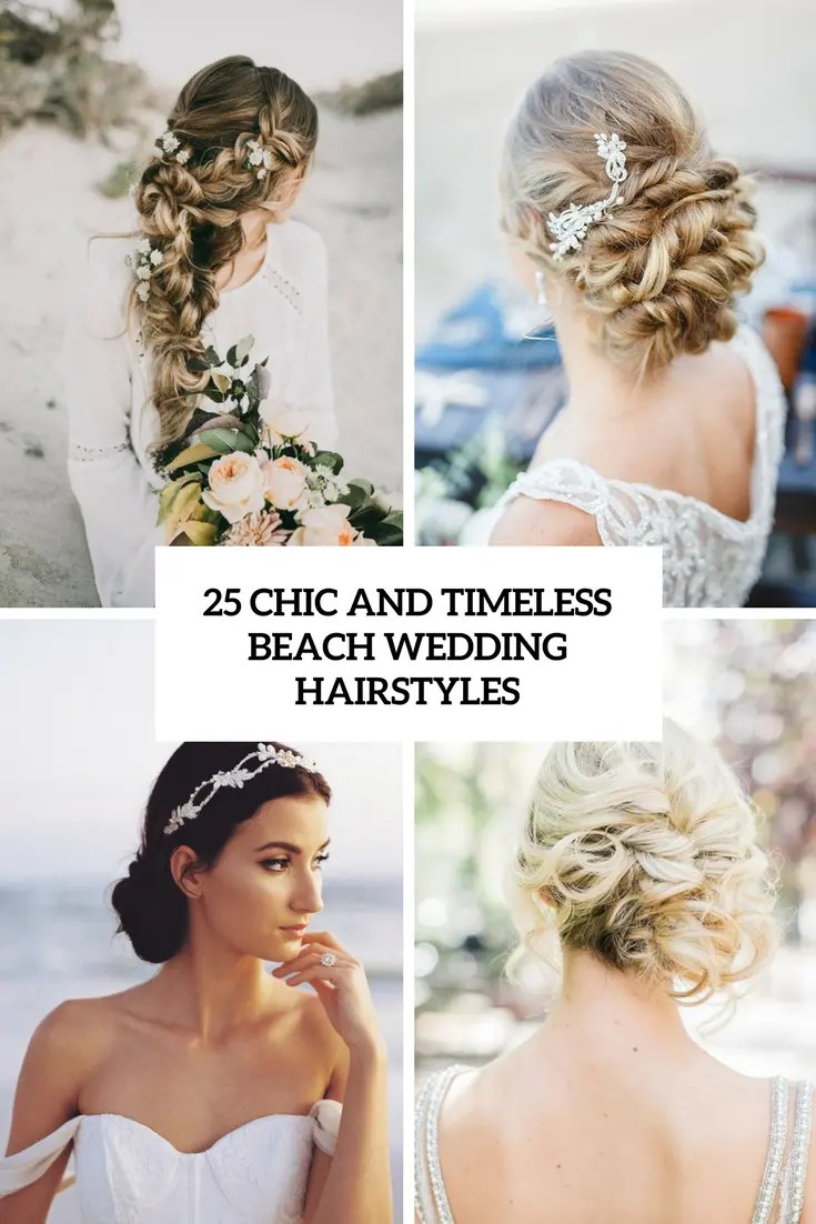 chic and timeless beach wedding hairstyles cover
