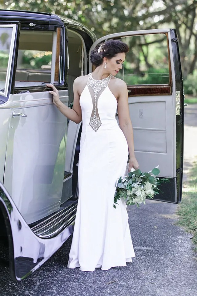 62cc24c1827 25 Embellished Wedding Dresses With A Wow Factor - crazyforus